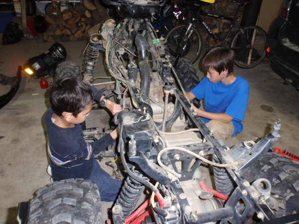 Electric ATV Conversion Project | Rondeau Energy Guy